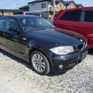 H18年式 BMW 120i  走行少ない 人気の黒!!