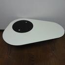 鏡面デザインテーブル(一部ガラス)【テーブル 折りたたみテーブル ...