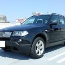 BMW X3(E83後期型)2.5si 走行6万2千km サファイ...