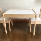 IKEA 子供用 テーブル&チェア2脚セット♬