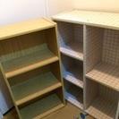 (2点セット)カラーボックス、本棚