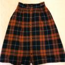 スカート☆赤チェック☆ロング