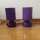 IKEA テーブルランプ☆2個セット