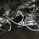 自転車売ります ママチャリ 目立たないピンク