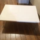 折りたたみミニテーブル☆ホワイト