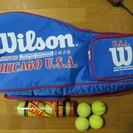 Wilson ウィルソン テニスバッグ+おまけボール8個