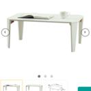<受付中>ニトリ 折りたたみテーブル シャイン 7550(WH)