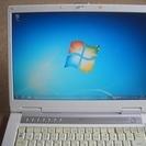 ノートパソコン Windows7   富士通 BIBLO NF50X