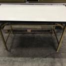 折りたたみ 会議 テーブル 1200×600×700 白