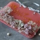 季節を楽しむキャンドルワークショップ~紫陽花~