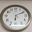 カシオの時計。  置時計  掛時計