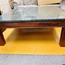 maruni 蛇紋石 テーブル 100cm×100cm