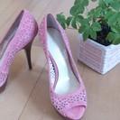 シンデレラの靴??高級ブランドENZO ANGIOLINI新品パンプス