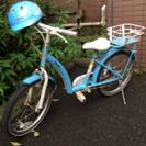 ★女の子用 自転車★ ヘルメット付き!