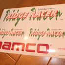 ●貴重●PS リッジレーサー ステッカー 未使用 ナムコ 新品