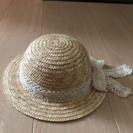 麦わら帽子☆48cm☆試着のみ