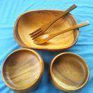 木製サラダ食器