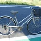 シマノ製6段変速付き27インチ自転車