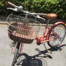 女の子用自転車(20インチ)