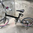 ■折りたたみ自転車 20インチ■鍵付き
