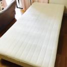 シングルベッド 足つきマットレス