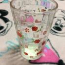 花柄グラス