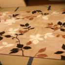 185×185サイズ 秋冬カーペット