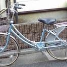交渉中!キャンセルOK。ブリジストン24インチ婦人用自転車(2重ロック)