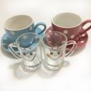 ペアグラス&コーヒーカップセット