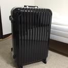 《未使用品》スーツケース黒 (旅行カバンハードケース、ブラック)