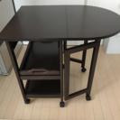 ニトリ キッチンワゴン テーブル