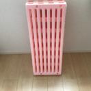 蝶プラ工業 すのこベッド エアースリープベビー ピンク 70×120cm