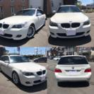 BMW525iツーリングMスポーツ/車検30年3月/純正マルチ/純...