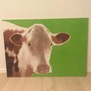 IKEA 牛さん パネル