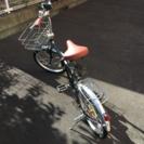 【商談中】折り畳み自転車 ブラック