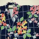 身丈149 裄丈62 浴衣 紫陽花 本染 日本製 ★3 着物 古今...