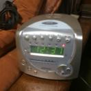 【オーム電機】CD ラジオクロック  USED