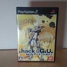 PS2ソフト .hack//G.U. Vol.3 歩くような速さで
