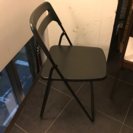 イケア折りたたみ椅子8脚(ブラック)(美品)あげます