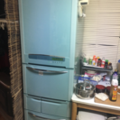 420リッター冷蔵庫2,004年式あげます