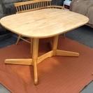 キツツキマーク飛騨産業のセンターテーブル、ダイニングテーブルでござ...