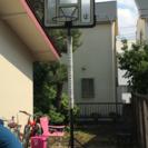 屋外 バスケットゴール