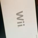 ジャンク Wii 本体 箱 配線コードなし
