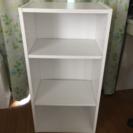 白 棚・カラーボックス 3段