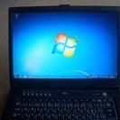 ノートパソコン Windows7  FMV-BIBLO NF70W...