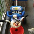 ミッキー三輪車 機能充実