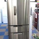 三菱 MITSUBISHI  MR-E45P 445L 冷蔵庫 フ...