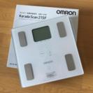 オムロン カラダスキャン HBF-215F-W [ホワイト] Omron