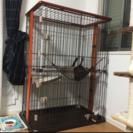サークル 猫 2段ケージ