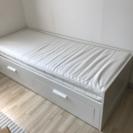 IKEA BRIMNES シングル/ダブルベッド 取りに来る方